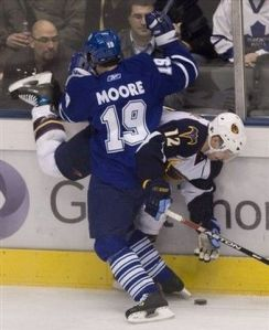 Thrashers Maple Leafs Hockey