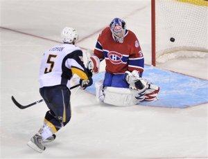 Sabres Canadiens Hockey