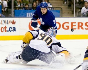 Sabres Maple Leafs Hockey