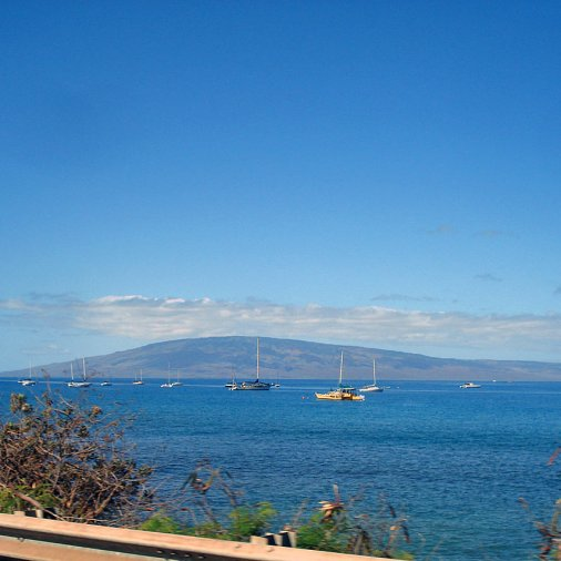 View from the 30 North on the way to Lahaina.