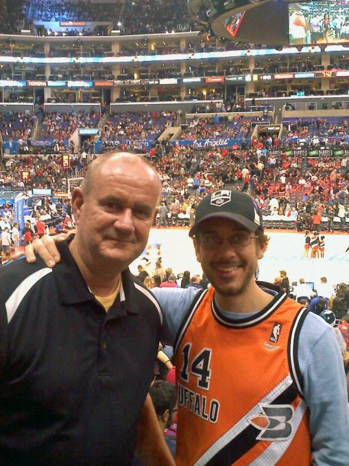 My first NBA game -- Los Angeles Clippers victorious over the Minnesota Timberwolves in OT 120-116