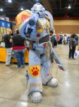 This Warhammer 40K Space Marine guy won cosplay for the weekend!