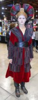 Queen Amidala cosplay -- I loved how she posed stoic but was really animated at the booth
