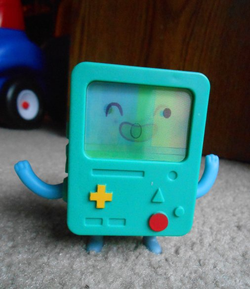 Got this BMO in my Happy Meal on the way to Arizona. Ooo!